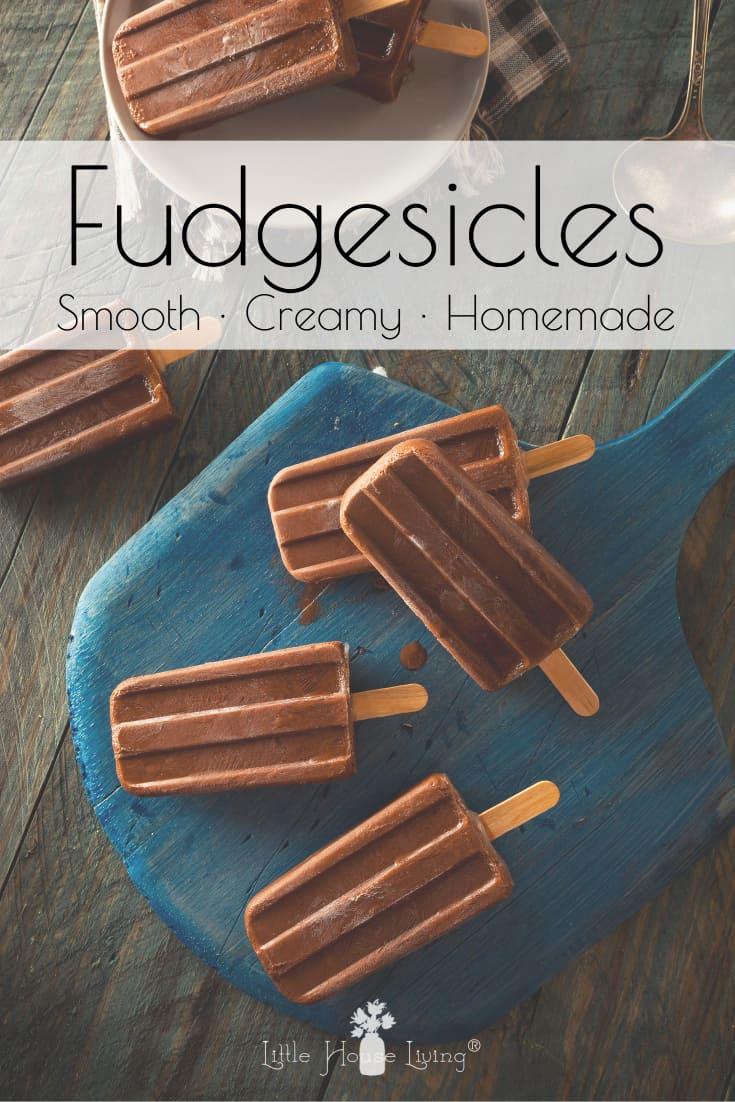 Homemade Fudgesicles