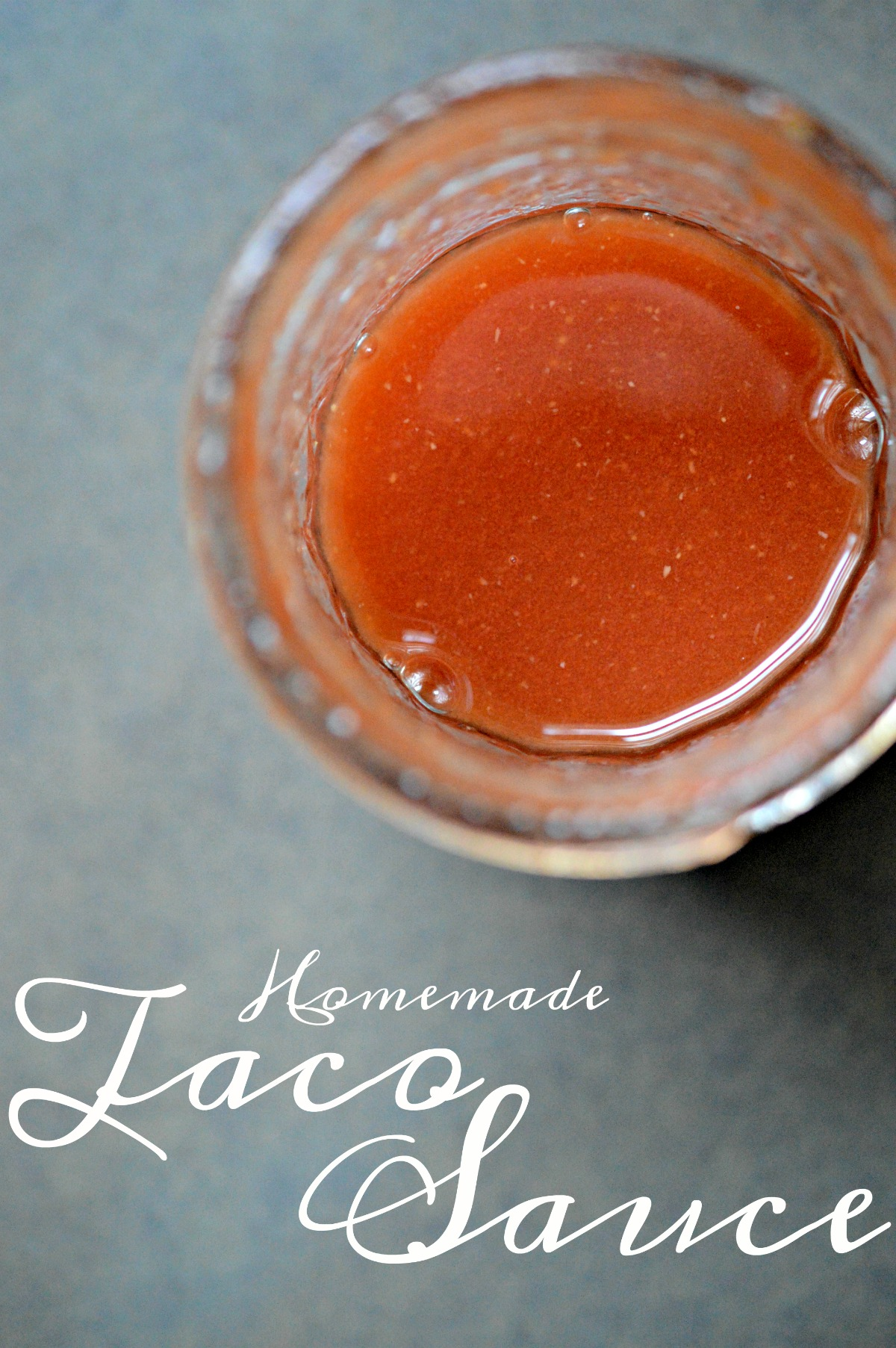 Make and can your own homemade Taco Sauce with this easy recipe!
