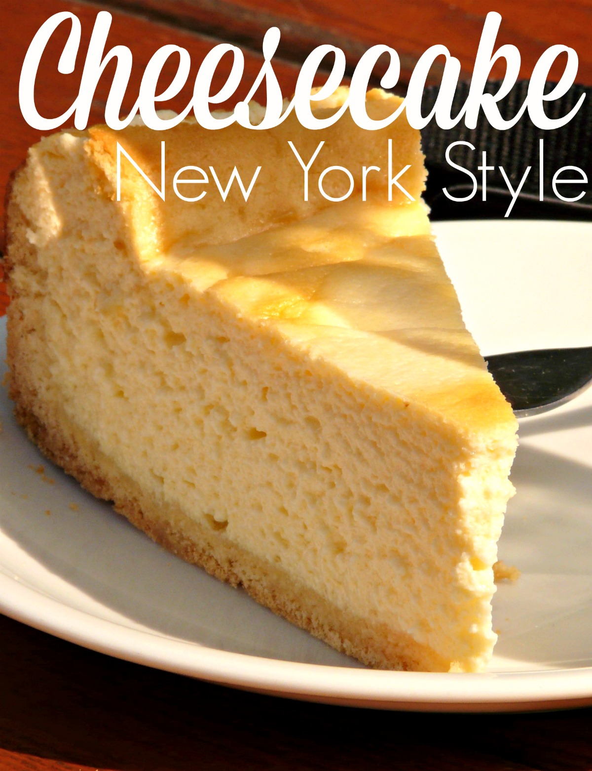 Make your own classic New York Style Cheesecake with this simple recipe. Only 6 ingredients!