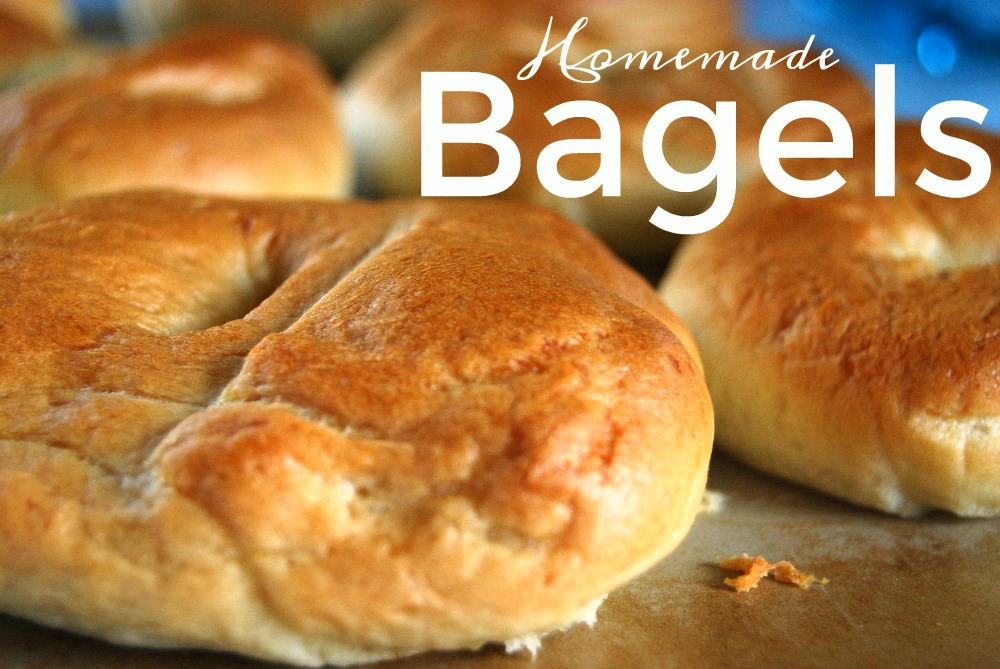 Make your own homemade Bagels in your bread machine, just 5 ingredients!