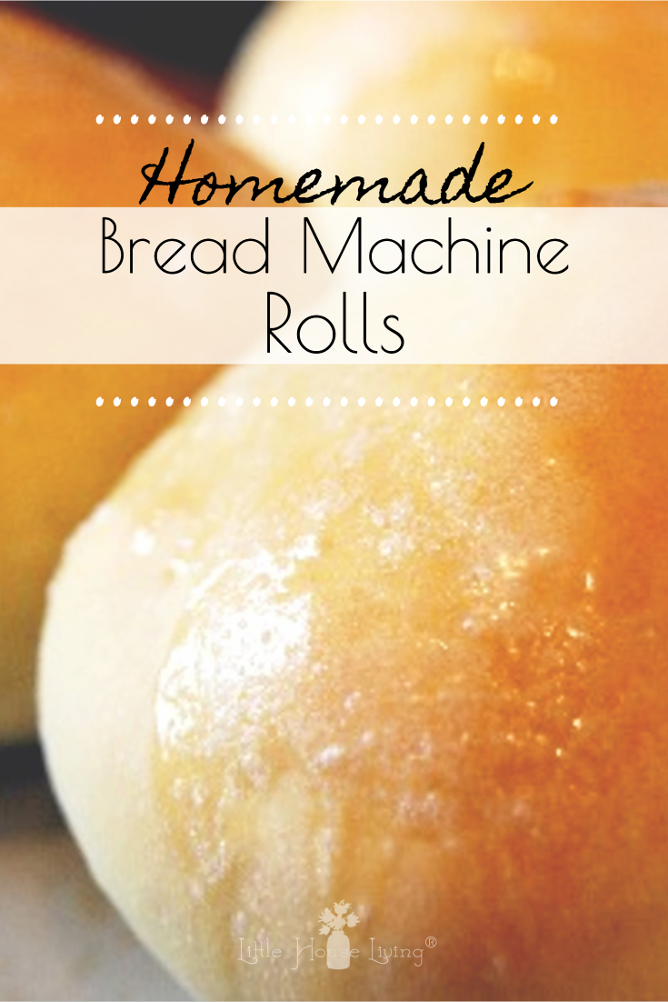 A simple, soft, and delicious recipe for homemade rolls that can be made in the bread machine. Perfect side for soup or a bun for a sandwich! #homemaderollsrecipe #breadmachinerolls #homemadebuns #breadmachinerecipes