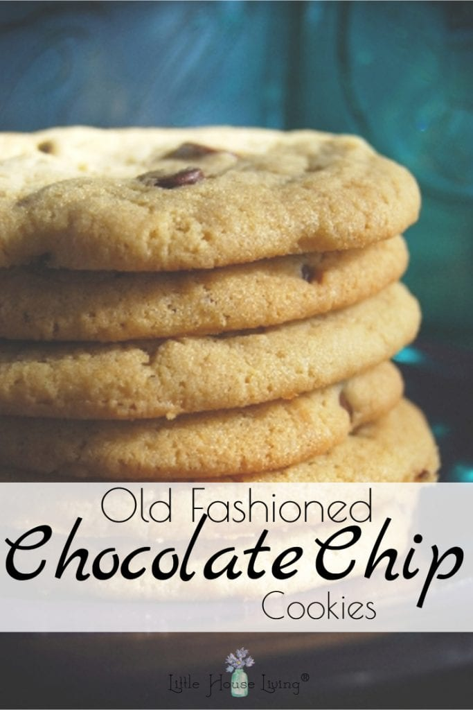 This delicious Old Fashioned Chocolate Chip Cookies recipe is the best and only cookie recipe you will ever need. It's been used for decades and is perfection! #chocolatechipcookies #oldfashionedcookies #oldfashionechocolatechip