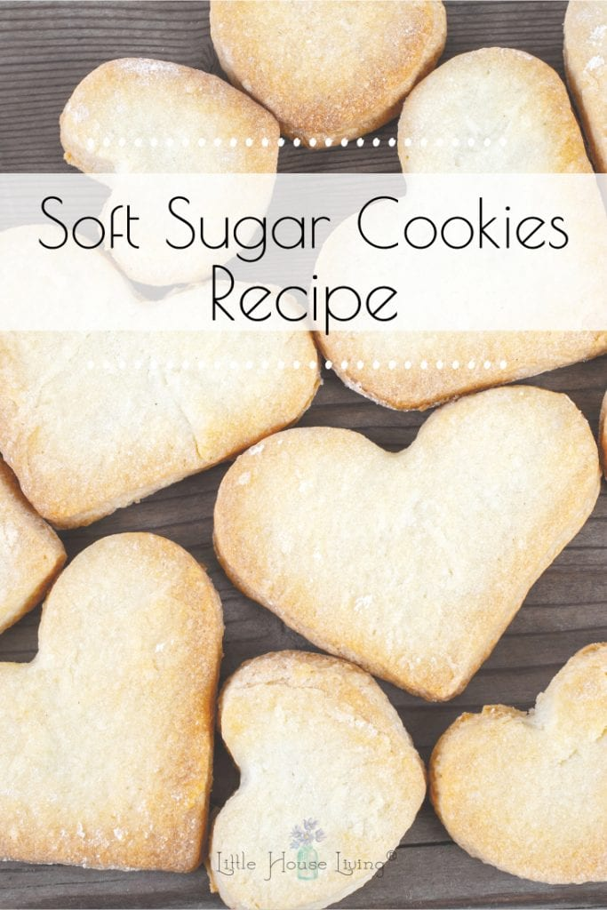 Have you been on the search for the perfect soft sugar cookies recipe? Our family has been making this one for decades! #sugarcookies #softsugarcookies #sugarcookierecipe
