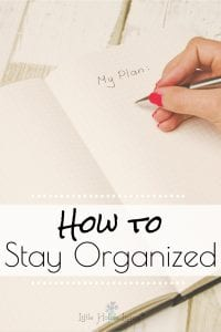 Are you struggling to keep up with daily tasks and things on your to-do list that just never seems to get done? Here are a few ideas and a daily look at how we stay organized and how you can too. #organized #todolist #stayorganized