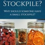 Why would someone need to have a stockpile or food or supplies? Here are some reasons that I think you will find very interesting. #stockpile