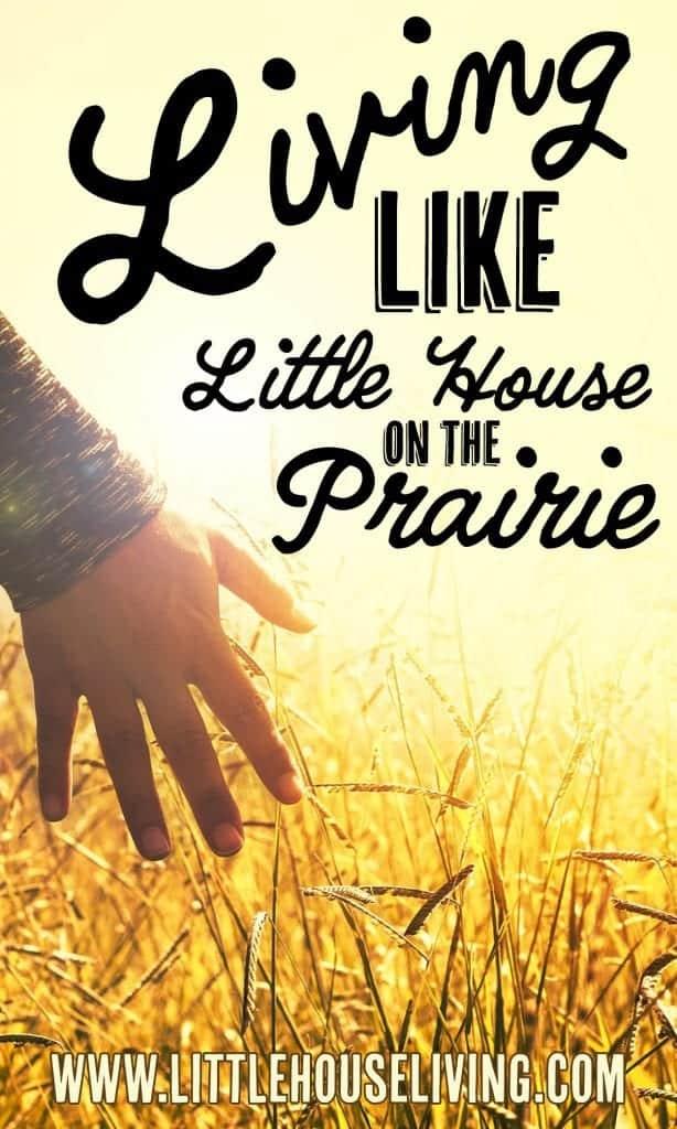 Living Like LIttle House on the Prairie