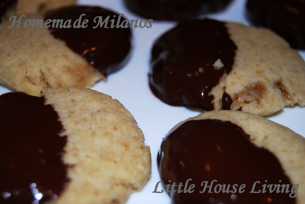 Homemade Milano Cookies - Little House Living
