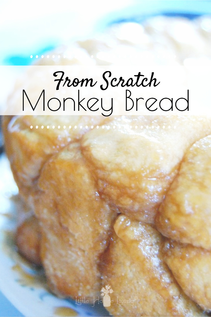Several years ago, one of my experiments was to make some super yummy monkey bread, from scratch. I'd only seen the version using store-bought dough and I wanted to know if it was possible to create the same delicious treat totally from scratch. Now, this version takes a little longer than it's from-a-can cousin, but I promise, it's worth it. #monkeybread #homemadebread #pullapartbread #dessertbread