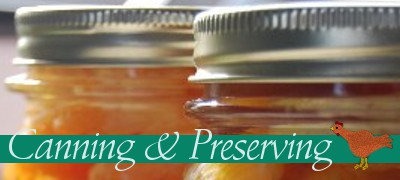canningpreserving