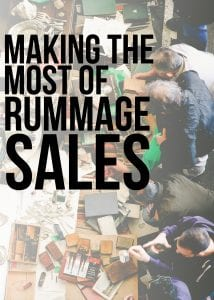 Making the Most of Rummage Sales