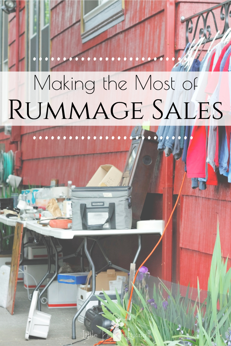 Rummage sale, yard sales, garage sales, whatever you want to call them, I love going to them! There's nothing like finding an awesome deal on things that you need and you won't find a lower price for certain items like clothing and children's items.