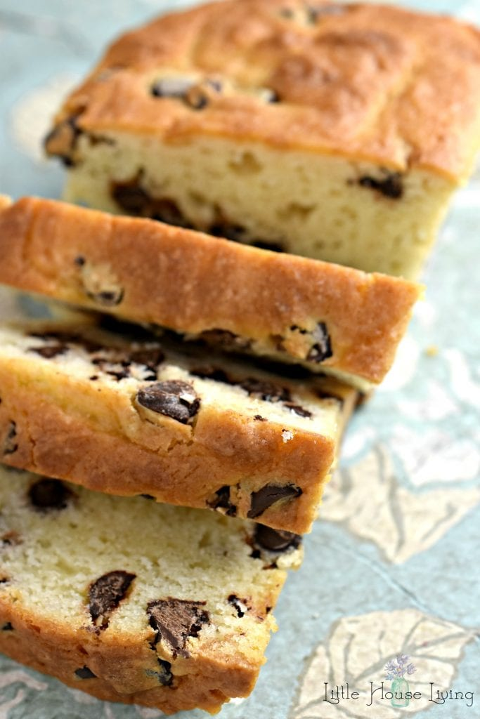Chocolate Chip Cream Cheese Bread