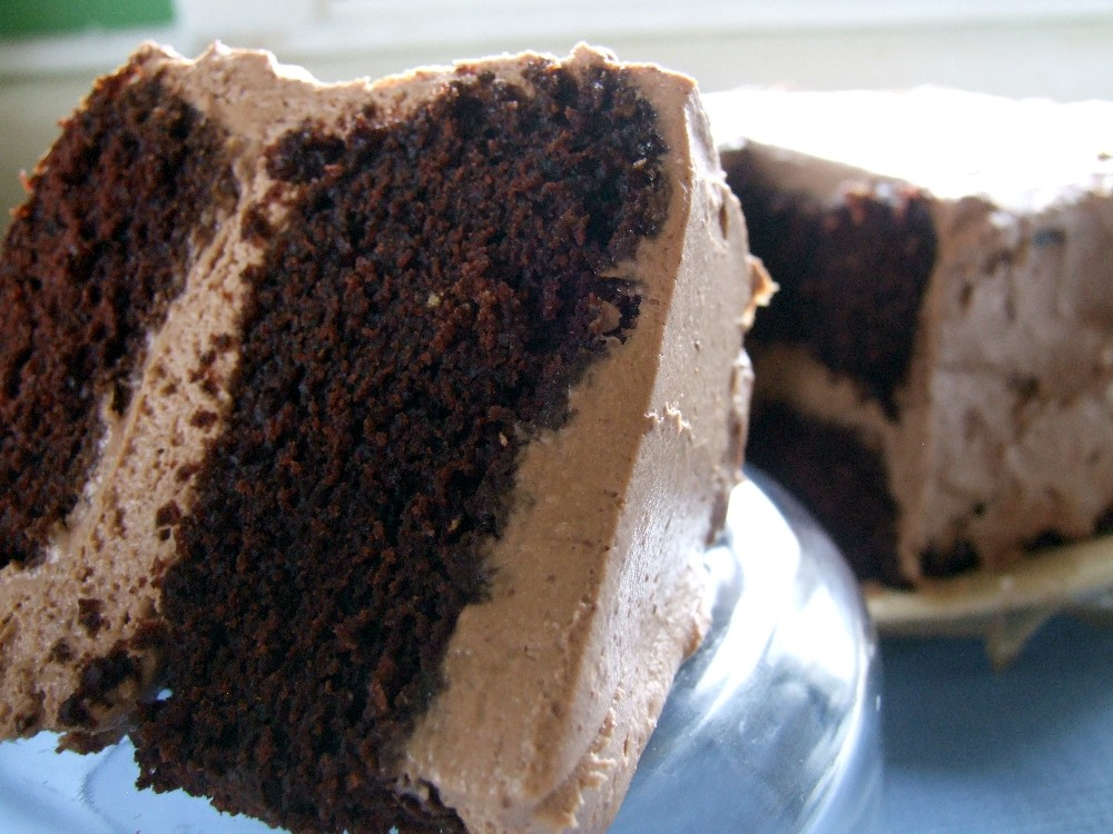 Chocolate Cheesecake Chocolate Cake