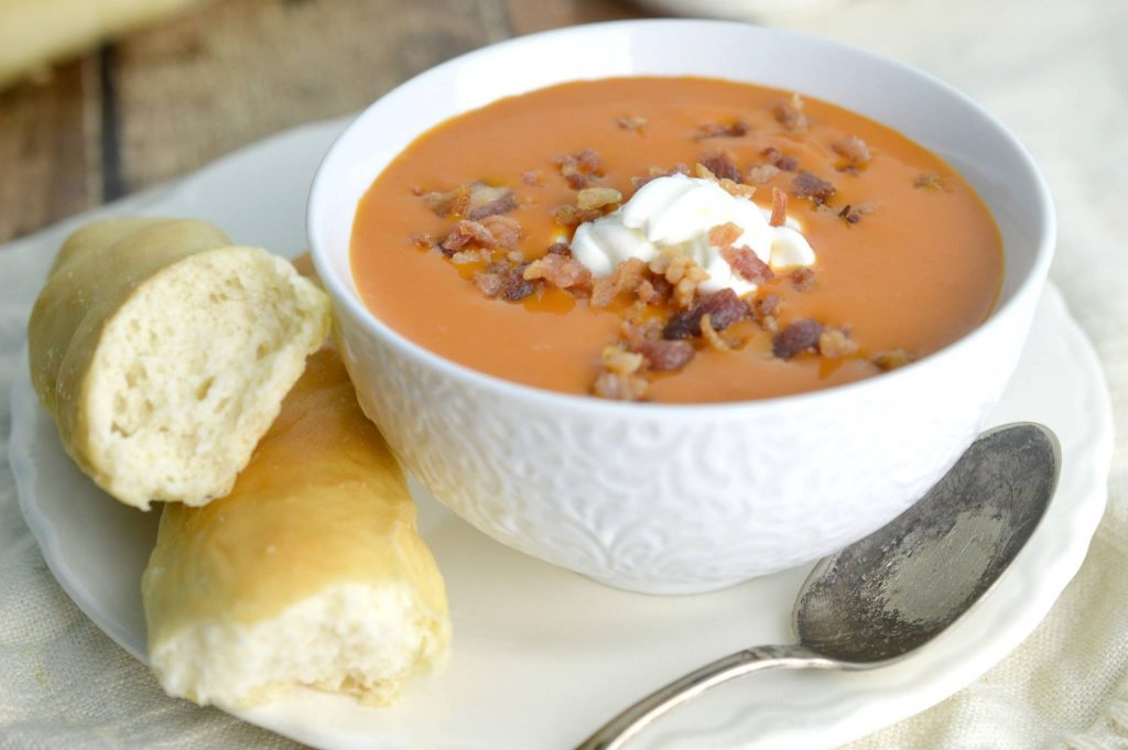 Soup with Breadsticks