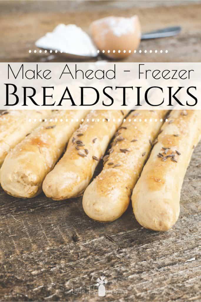 Make Ahead Freezer Breadsticks