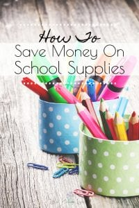 Do you want to save money on back to school supplies and curriculum? These tips can help find the best deal! #savingmoney #schoolsupplies