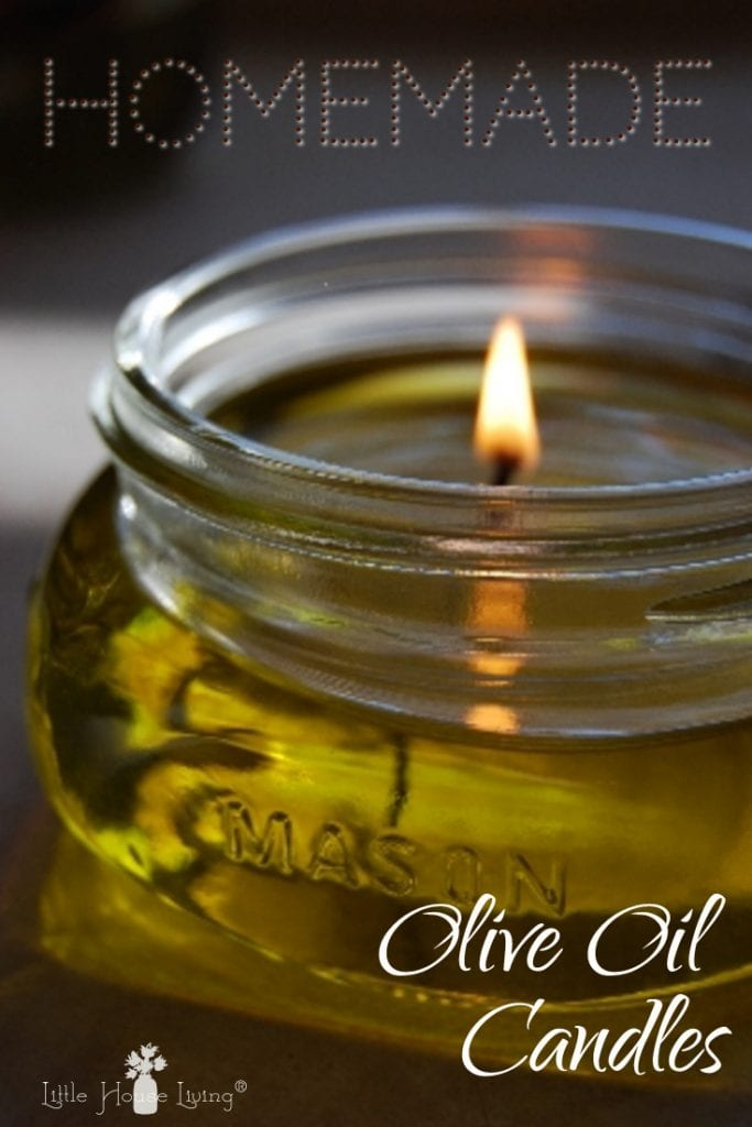 Olive Oil Candles