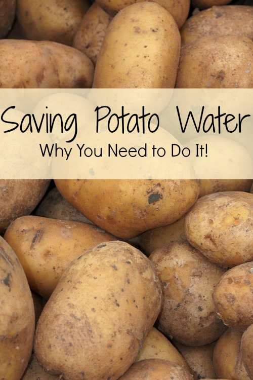 Potato Water For