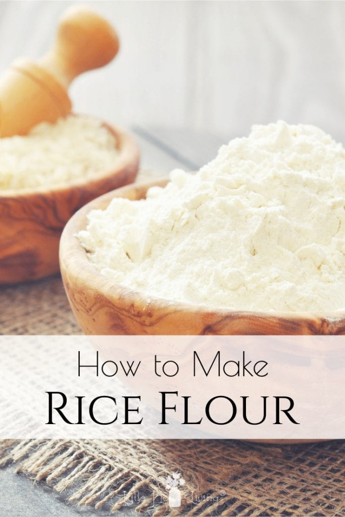 Are you looking for an inexpensive corn and gluten-free flour alternative? Learn How to Make Rice Flour, an easy and frugal allergen-friendly flour substitute and find some delicious recipes to use it in! #riceflour #homemadericeflour #makeyourownriceflour #allergenfriendly #glutenfree #cornfree #makeyourown