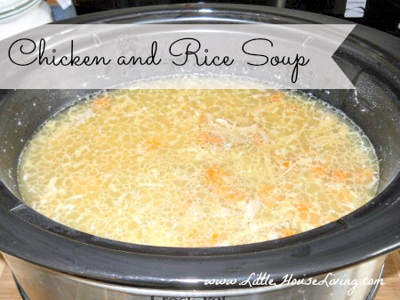 Chicken and Rice Soup - Little House Living