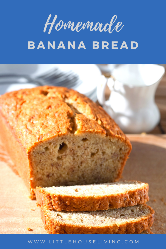 Need a simple banana bread recipe? This one has proven itself to our family for decades!
