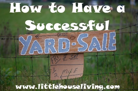 Post image for How to Have a Yard Sale (Traditional and Online)