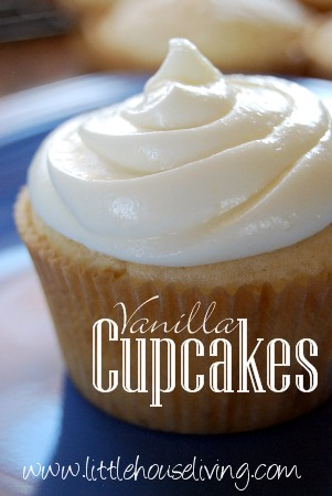 Post image for Vanilla Cupcakes