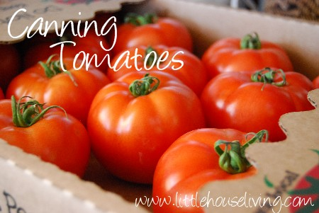 Post image for Home Canning Tomatoes