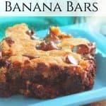 Choco Banana Bars
