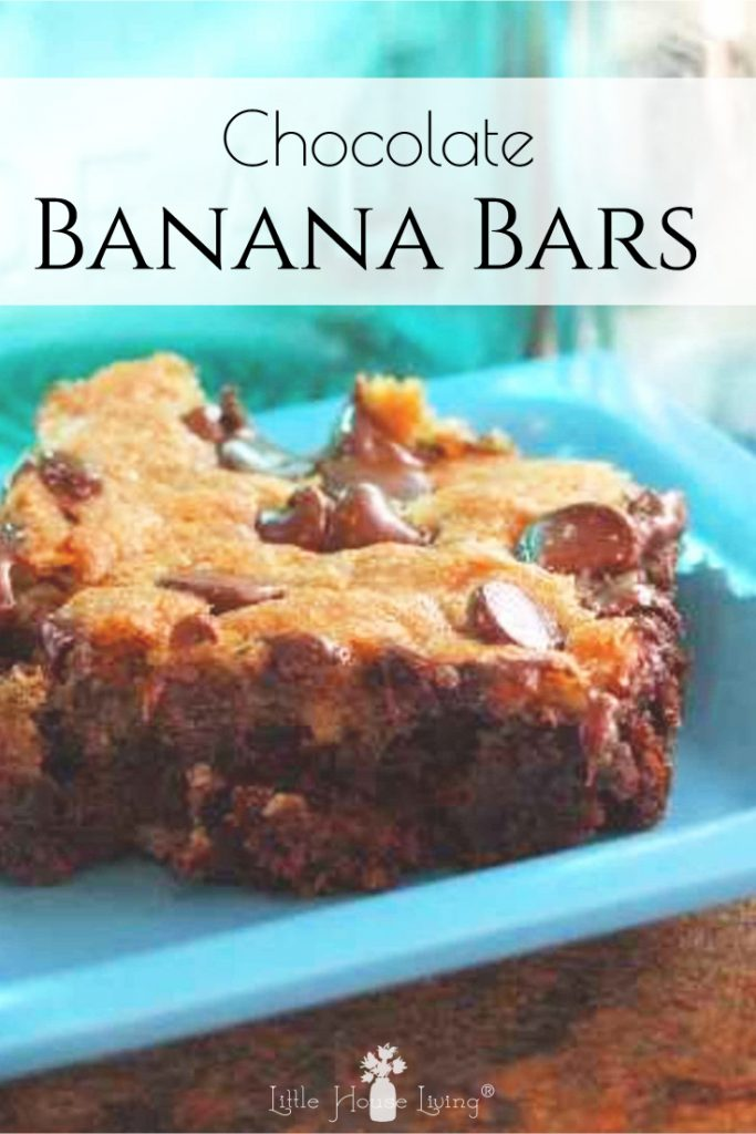 I'm always on the hunt for a good, make-ahead snack that the kids will love, these Choco Banana Bars are the perfect treat! #makeahead #chocobananabars #banana #chocolate #snackbar #dessert
