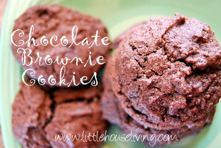 Post image for Chocolate Brownie Cookies