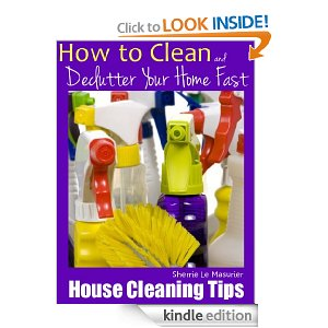 Post image for Free ebook | How to Clean and Declutter Your House Fast