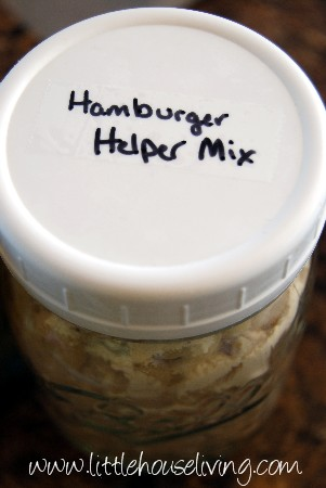 Post image for Hamburger Helper Mix