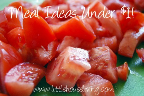 Meals for Under 1