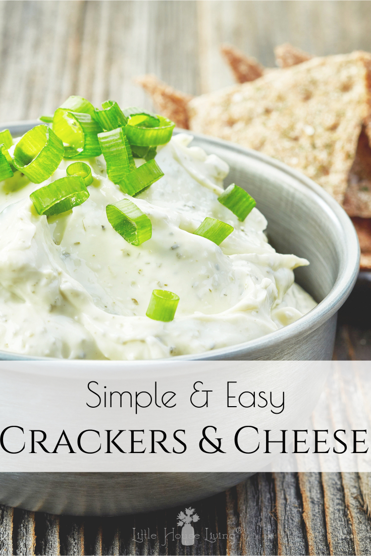 Looking for an easy cheese and crackers snack recipe? This is crazy simple to put together but tastes so good!