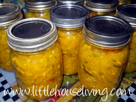 Post image for Zucchini Relish Canning Recipe