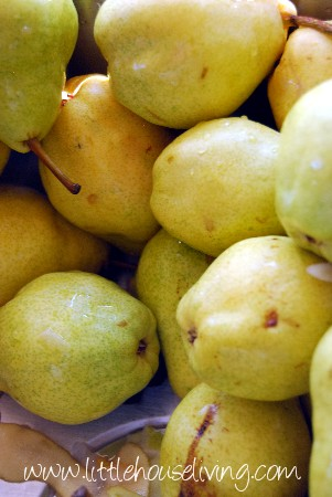 Post image for Canning Pears