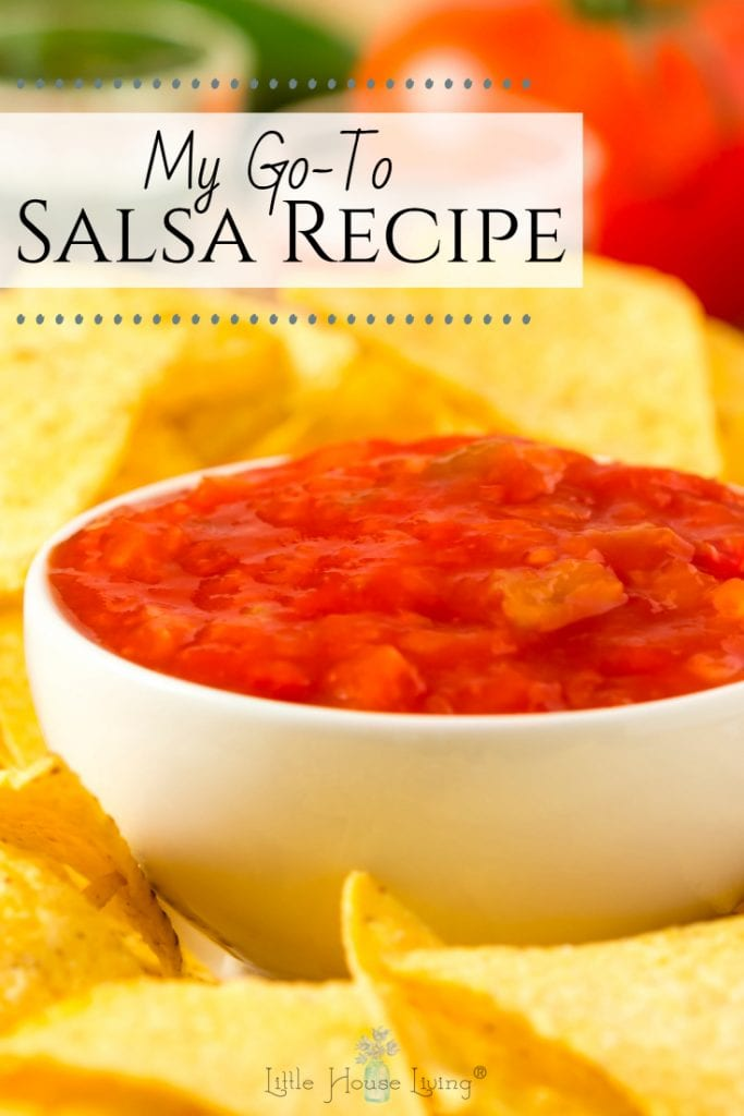 Looking for a Salsa Recipe for Canning? This one is easy and delicious, a favorite in our home and sure to be a favorite with your family too! #salsa #homemadesalsa #canningsalsa #salsarecipeforcanning
