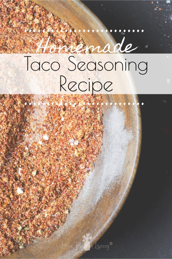 Taco Seasoning is a basic staple in most households. Learn why and how to make your own with this Recipe for Taco Seasoning. #homemadetacoseasoning #tacoseasoning #glutenfree #makeyourown #tacos