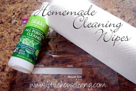 Post image for Homemade Cleaning Wipes