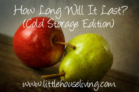 Post image for How Long Will It Last? (Cold Storage Edition)