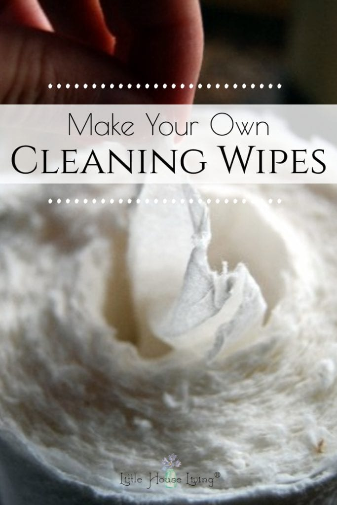Make cleaning a breeze without all those harsh chemicals. Make your own homemade cleaning wipes at a fraction of the cost of storebought brands. #homemadecleaningwipes #homemadecloroxwipes #homemadelysolwipes #nontoxiccleaningwipes #diycleaningwipes #frugal #makeyourown