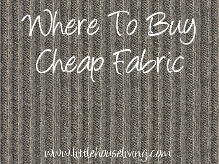 Cheap Places to Buy Fabric