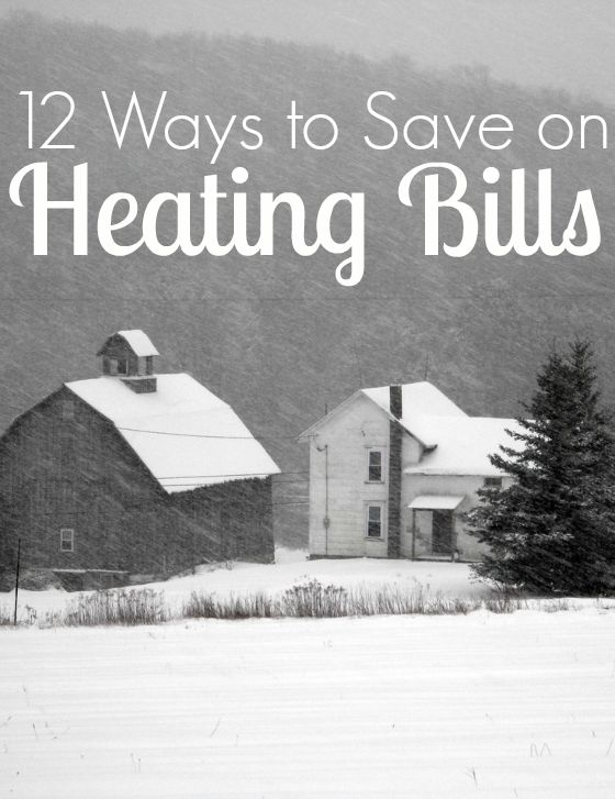 Post image for 12 Tips to Save on Your Heating Bills