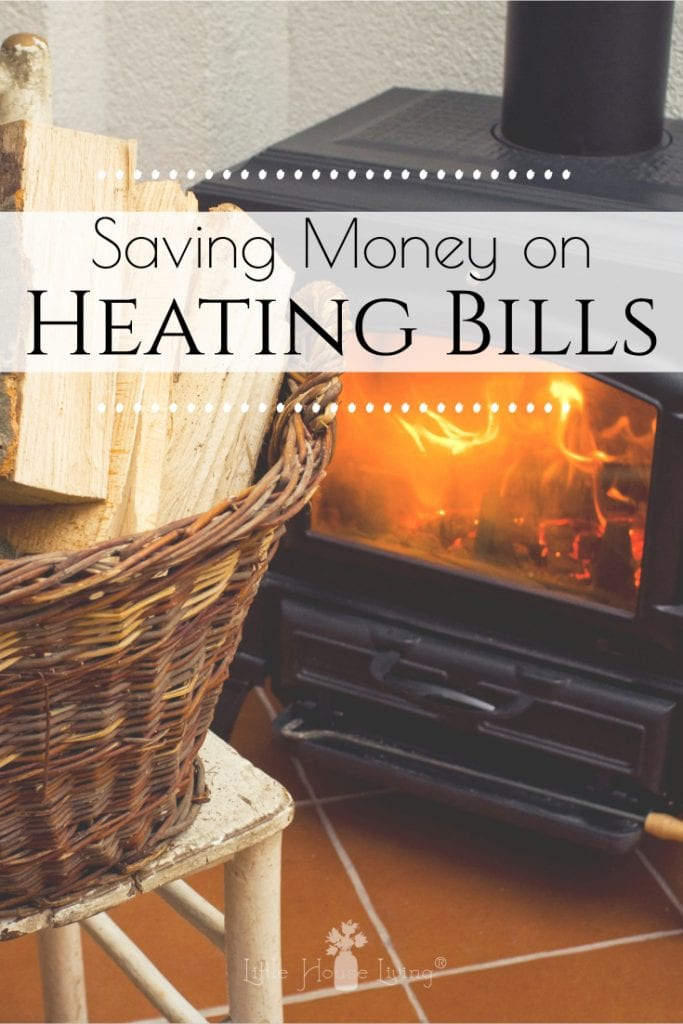 Keep your heating bills down and learn how to winterize your home on a budget with these tips to save money on your heating costs this winter. #savemoney #heatingcosts #savemoneyonheating #winterpreparedness