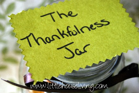 Post image for The Thankful Thanksgiving Jar