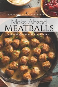 You can never have enough meal ideas that are ready to go right? We love having these make-ahead meatballs in our freezer because they are fast, ready to go, and leave you with plenty of possibilities! #makeaheadmeals #meatballs #freezerfriendly #glutenfreemeatballs #freezermeatballs