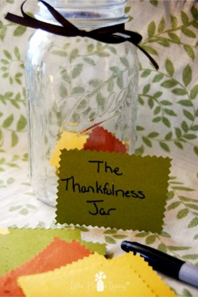 Whether you are celebrating with family or friends, the Gratitude Jar is a beautiful new tradition you can start around your Thanksgiving table this year. #thanksgiving #gratitude #thankfulness #thanksgivingtradition #newtraditions #thankful #grateful