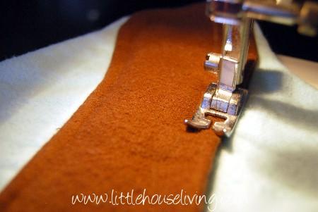 homemade cloth pads