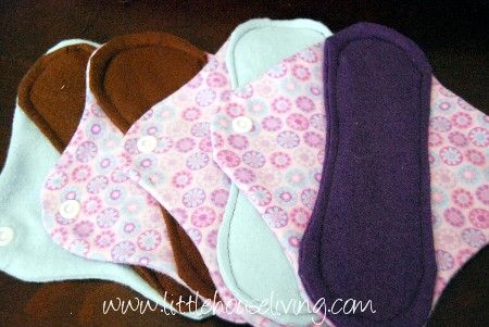 homemade cloth pads